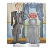 The Picture Of Dorian Gray - Sin's False Face Shower Curtain