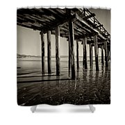 The Pier At Cayucos Shower Curtain