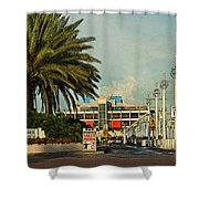 The Pier 2 -  St. Petersburg Fl Shower Curtain