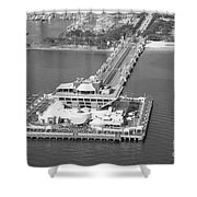 The Pier St Petersburg Fl Shower Curtain