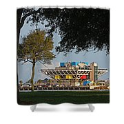 The Pier - St. Petersburg Fl Shower Curtain
