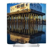 The Pier Shower Curtain