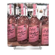 The Pink Drink Shower Curtain