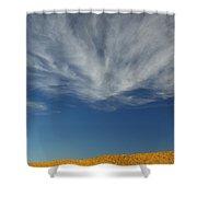 The Pinnacles 2am-111016 Shower Curtain