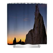 The Pinnacles 2am-111069 Shower Curtain
