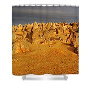The Pinnacles 4 Shower Curtain