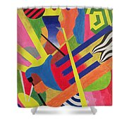 The Pipe Band, 1990 Shower Curtain