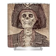 The Pirate Shower Curtain