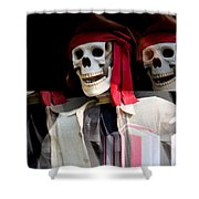 The Pirate's Ghost Shower Curtain