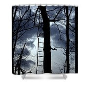 The Pirates Perch Shower Curtain