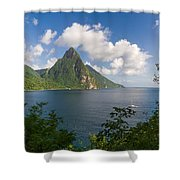 The Piton Shower Curtain