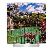 The Place To Relax Shower Curtain
