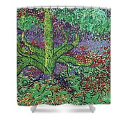 The Plant Shower Curtain