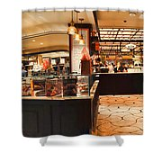 The Plaza Food Hall Shower Curtain