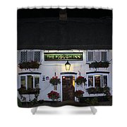 The Plough Inn Shower Curtain