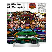 The Plymouth Rapid Transit System Shower Curtain