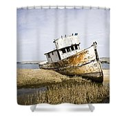 The Point Reyes Shower Curtain
