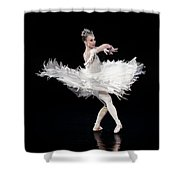 The Poiwer Of Elegance Shower Curtain
