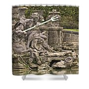 The Ponds Of Versailles - 1  Shower Curtain