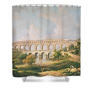 The Pont Du Gard, Nimes Shower Curtain