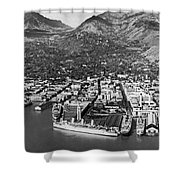 The Port Of Honolulu Shower Curtain