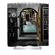 The Portal To Learning Shower Curtain