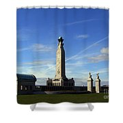The Portsmouth Naval Memorial Southsea Shower Curtain