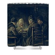 The Potato Eaters, 1902 Shower Curtain