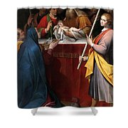The Presentation In The Temple Shower Curtain