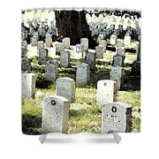 The Presidio Shower Curtain