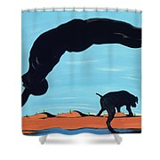 The Pride Of Chestertown, 2000 Shower Curtain
