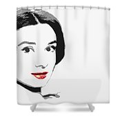 The Princess Of Beauty Shower Curtain