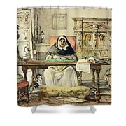 The Prior, From Sketches Of Spain Shower Curtain