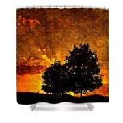 The Promise Overlay Version Shower Curtain