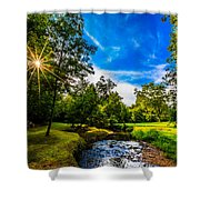 The Promised Land Shower Curtain