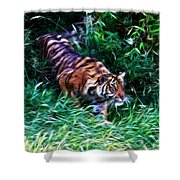 The Prowler Shower Curtain