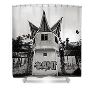 The Pudu Prison Shower Curtain