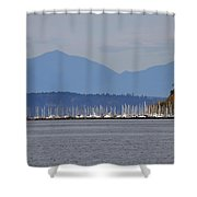 The Puget Sound Shower Curtain