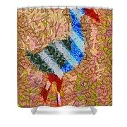 The Pukeko Shower Curtain