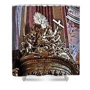 The Pulpit Shower Curtain