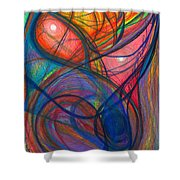 The Pulse Of The Heart Lies Strong Shower Curtain