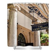 The Pump Room Shower Curtain