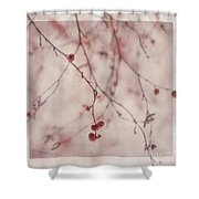 The Purr Of Autumn Shower Curtain