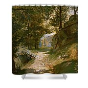 The Pyrenees Shower Curtain