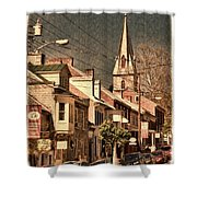 The Quintessential Semiquincentennial - Shepherdstown Wv  Shower Curtain