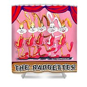 The Rabbettes Shower Curtain