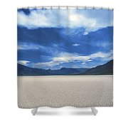 The Race Track Shower Curtain