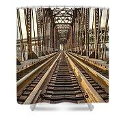 The Rails II Shower Curtain