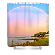 The Rainbow Shower Curtain