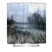 The Rains Came Shower Curtain